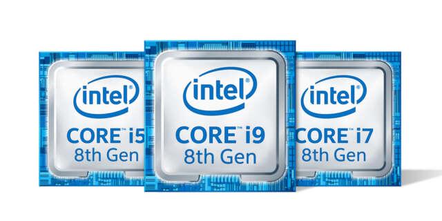 8th gen Intel core processors - نسل هشتم پردازندههای اینتل
