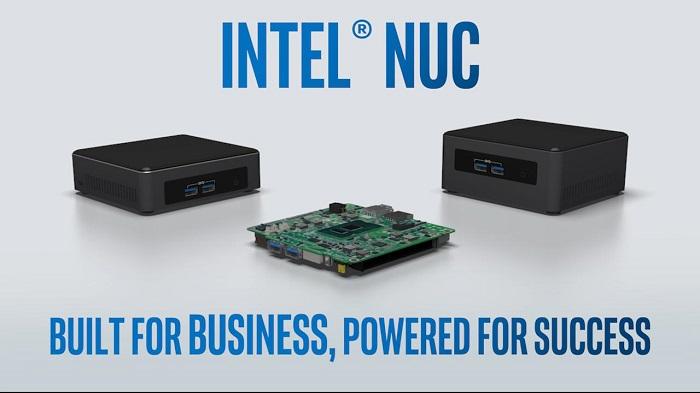 کامپیوتر کوچک نیمه آماده اینتل NUC7i3BNH