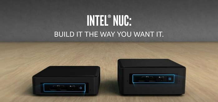 کامپیوتر کوچک نیمه آماده اینتل NUC7i7BNH