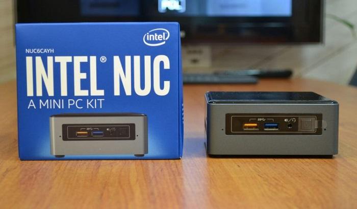 کامپیوتر کوچک نیمه آماده اینتل NUC6CAYH