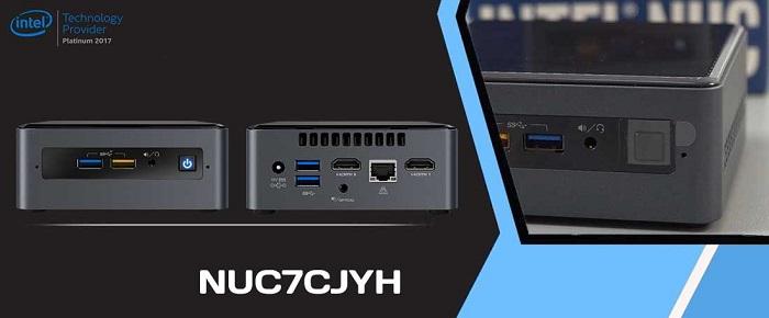 کامپیوتر کوچک نیمه آماده اینتل NUC7CJYH