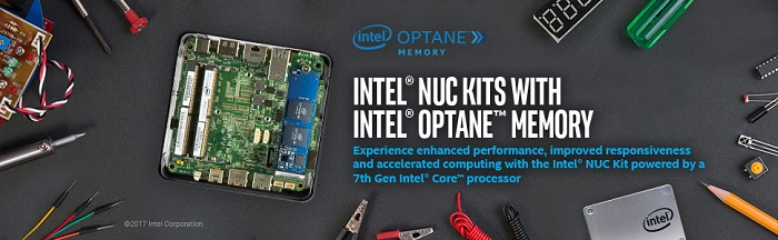 کامپیوتر کوچک نیمه آماده اینتل NUC7i5BNHX1