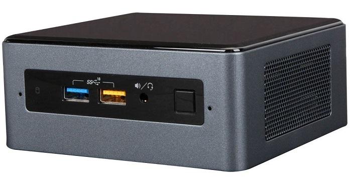 کامپیوتر کوچک نیمه آماده اینتل NUC8i7BEH