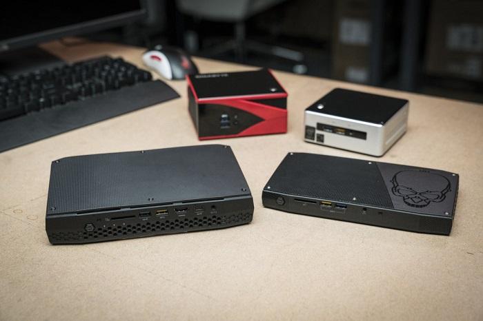کامپیوتر کوچک نیمه آماده اینتل NUC8i7HNK