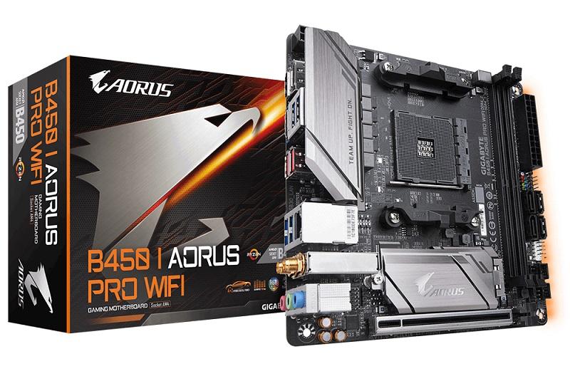 Mini-ITX B450i Aorus Pro WiFi