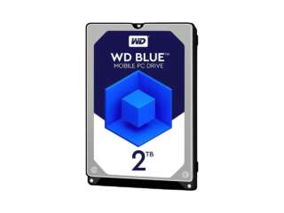 هارد دیسک اینترنال لپتاپ وسترن دیجیتال BLUE PC MOBILE 128MB 2TB WD20SPZX