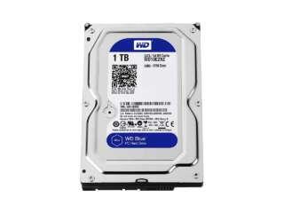 هارد دیسک اینترنال وسترن دیجیتال BLUE PC DESKTOP 5400RPM 1TB WD10EZRZ