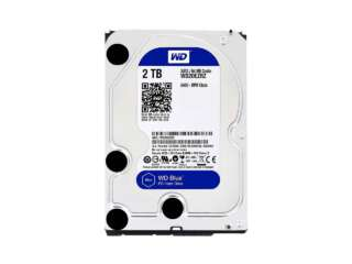 هارد دیسک اینترنال وسترن دیجیتال BLUE PC DESKTOP 5400RPM 2TB WD20EZRZ