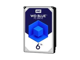 هارد دیسک اینترنال وسترن دیجیتال BLUE PC DESKTOP 5400RPM 6TB WD60EZRZ