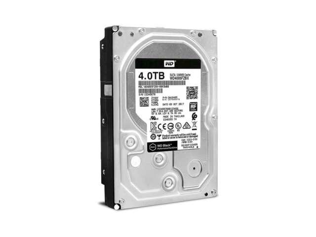 هارد دیسک اینترنال وسترن دیجیتال BLACK PERFORMANCE DESKTOP 256MB 4TB WD4005FZBX