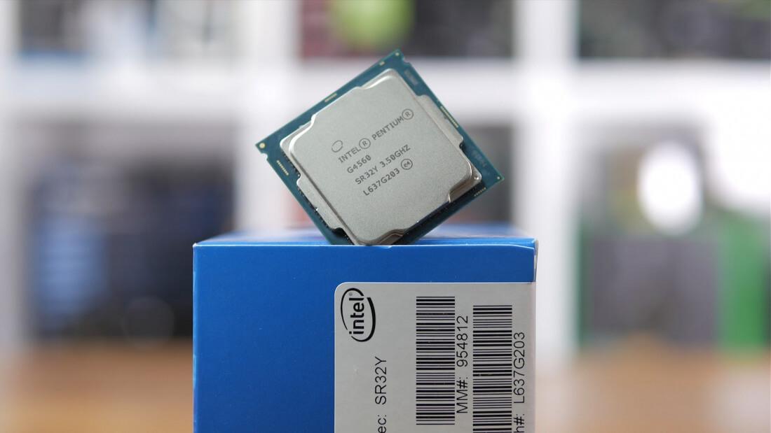 پردازنده اینتل Pentium G4560 Box