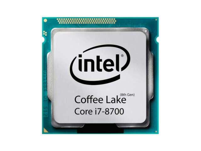 پردازنده اینتل Core i7-8700 Processor