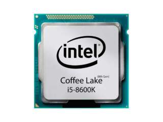پردازنده اینتل Core i5-8600K Processor