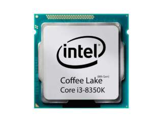 پردازنده اینتل Core i3-8350K Processor