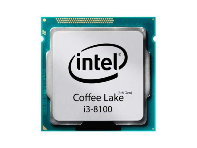 پردازنده اینتل Core i3-8100 Processor