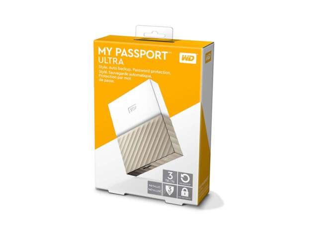 ذخیره ساز اکسترنال وسترن دیجیتال My Passport Ultra 3TB WDBFKT0030B