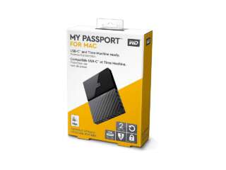 ذخیره ساز اکسترنال وسترن دیجیتال My Passport for Mac 2TB WDBLPG0020BBK-WESE