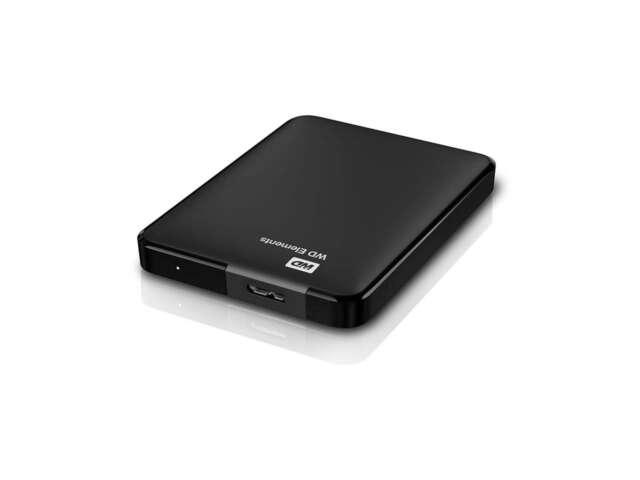ذخیره ساز اکسترنال وسترن دیجیتال Elements Portable 2TB WDBU6Y0020BBK-NESN