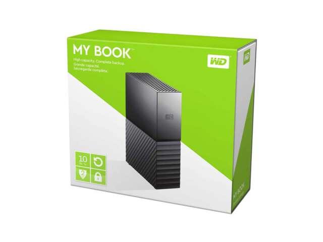 ذخیره ساز اکسترنال وسترن دیجیتال MY BOOK 10TB WDBBGB0100HBK-NESN