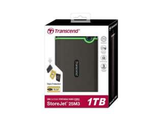 ذخیره ساز اکسترنال ترنسند StoreJet 25M3 1TB TS1TSJ25M3