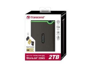 ذخیره ساز اکسترنال ترنسند StoreJet 25M3 2TB TS2TSJ25M3