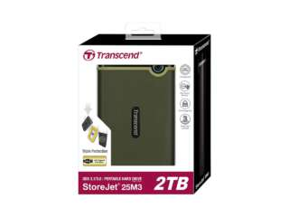 ذخیره ساز اکسترنال ترنسند StoreJet 25M3G 2TB TS2TSJ25M3G