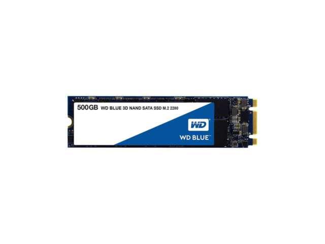 اساسدی وسترن دیجیتال BLUE 3D NAND SATA 500GB M.2 2280 WDS500G2B0B