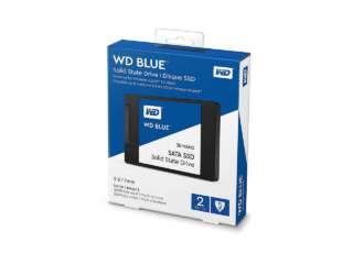 """اساسدی وسترن دیجیتال BLUE 3D NAND SATA 2TB 2.5"""" 7mm WDS200T2B0A"""