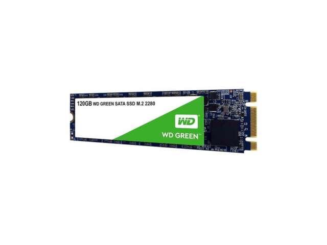اساسدی وسترن دیجیتال GREEN PC 120GB M.2 2280 WDS120G2G0B