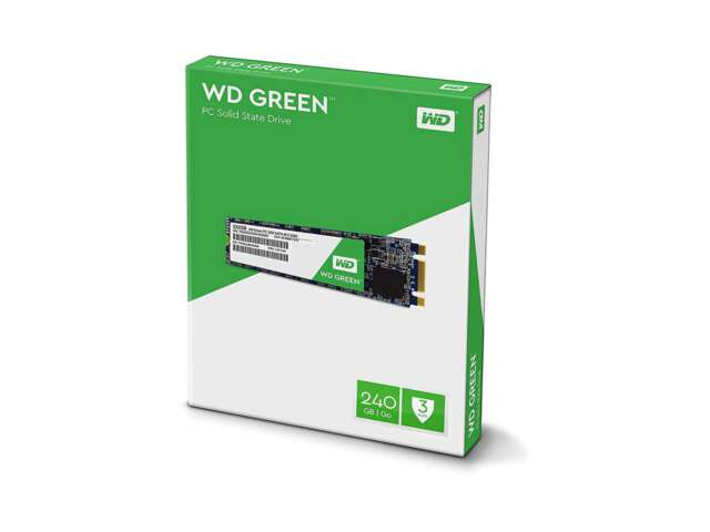 اساسدی وسترن دیجیتال GREEN PC 240GB M.2 2280 WDS240G2G0B