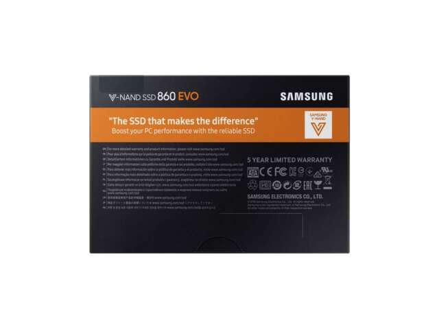 """اساسدی سامسونگ 860 EVO 1TB 2.5"""" MZ-76E1T0B/EU"""