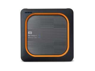 ذخیره ساز اکسترنال وسترن دیجیتال MY PASSPORT WIRELESS SSD 250GB WDBAMJ2500AGY-NESN