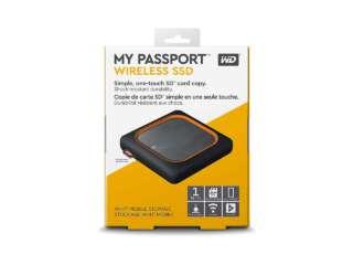 ذخیره ساز اکسترنال وسترن دیجیتال MY PASSPORT WIRELESS SSD 1TB WDBAMJ5000AGY-NESN