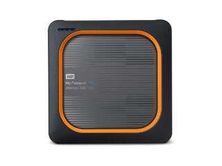 ذخیره ساز اکسترنال وسترن دیجیتال MY PASSPORT WIRELESS SSD 2TB WDBAMJ0020BGY-NESN