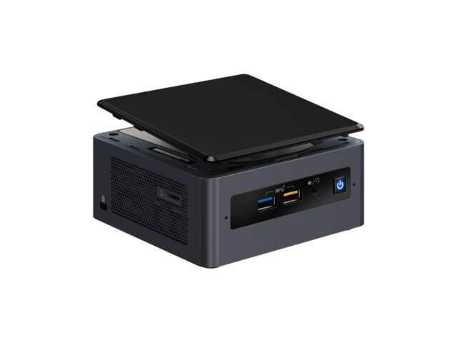 کامپیوتر کوچک نیمه آماده اینتل NUC8i3BEH
