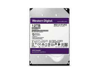 هارد دیسک اینترنال وسترن دیجیتال Purple Surveillance 12TB WD121PURZ