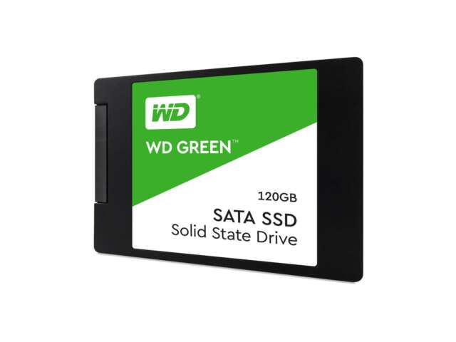 """اساسدی وسترن دیجیتال Green PC 120GB 2.5"""" 7mm WDS120G2G0A"""