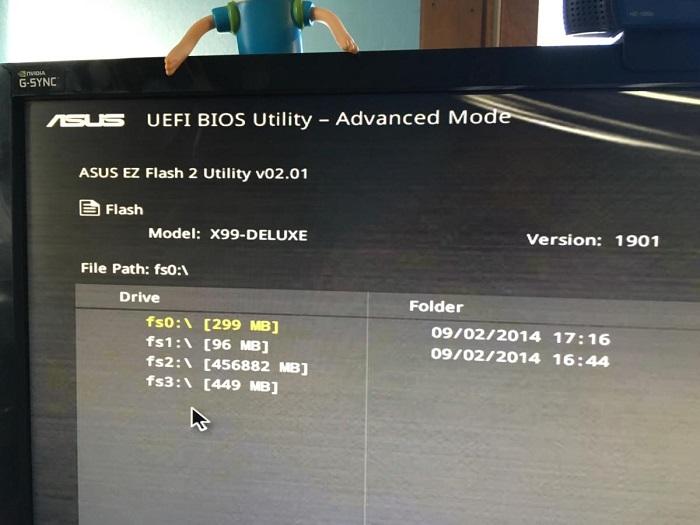 موزش بهروزرسانی بایوس مادربرد با استفاده از رابط یکپارچه UEFI