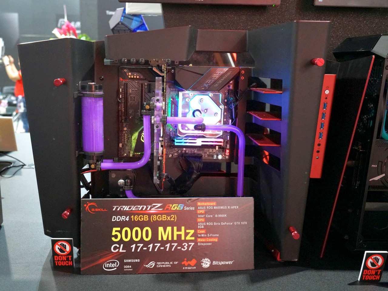کامپیوتکس 2019: G.SKILL از ماژولهای رم DDR4-4000 و DDR4-5200 رونمایی کرد