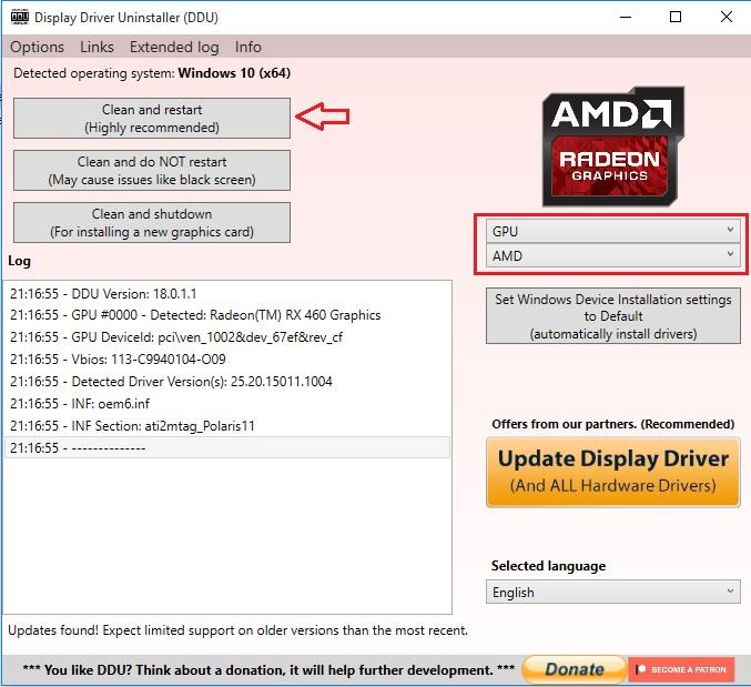 آموزش نصب درایور کارتهای گرافیک Nvidia و AMD