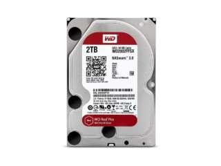 هارد دیسک اینترنال وسترن دیجیتال RED PRO NAS 2TB WD2002FFSX