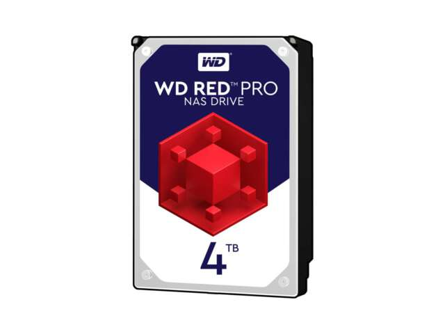 هارد دیسک اینترنال وسترن دیجیتال RED PRO NAS 4TB WD4003FFBX