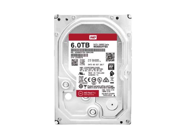 هارد دیسک اینترنال وسترن دیجیتال RED PRO NAS 6TB WD6003FFBX