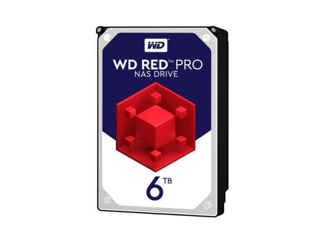 هارد دیسک اینترنال وسترن دیجیتال RED PRO NAS 6TB WD6002FFWX