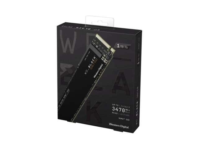 اساسدی وسترن دیجیتال BLACK SN750 NVME 1TB WDS100T3X0C