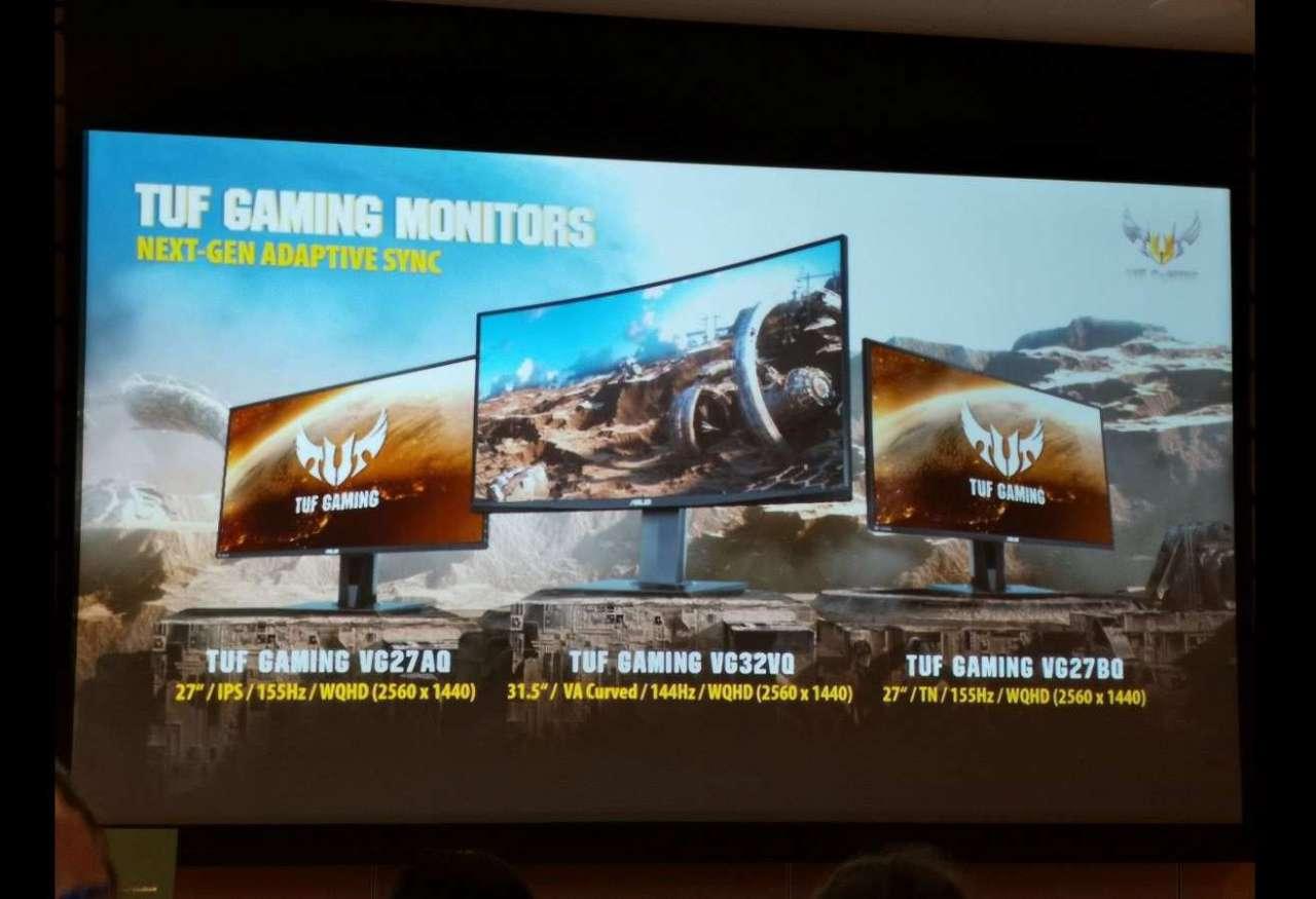 کامپیوتکس 2019: ایسوس مانیتور گیمینگ TUF Gaming VG27AQ را معرفی کرد