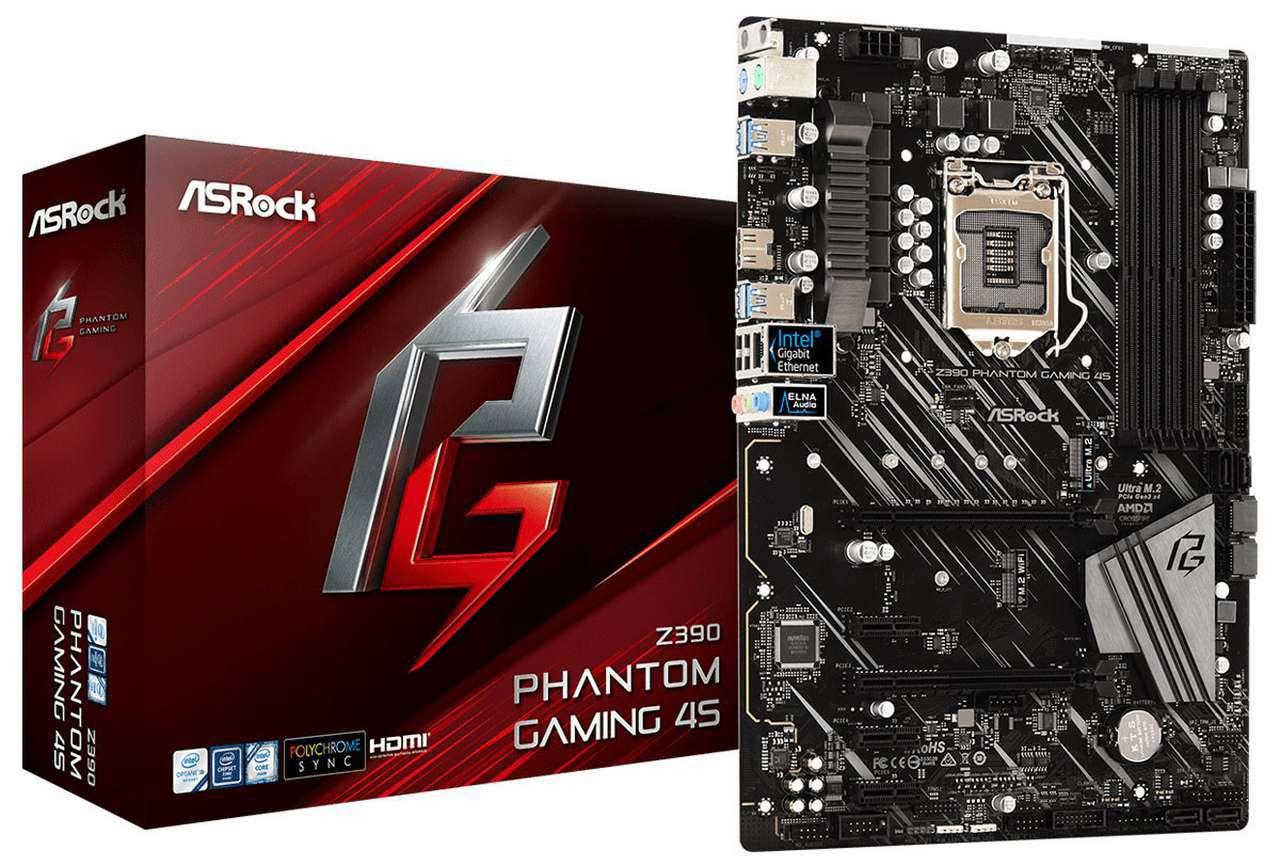 ASRock مادربرد Z390 Phantom Gaming 4S را عرضه کرد