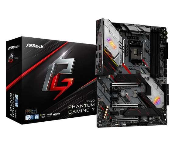ASRock دو مادربرد جدید Z390 Phantom Gaming را معرفی کرد