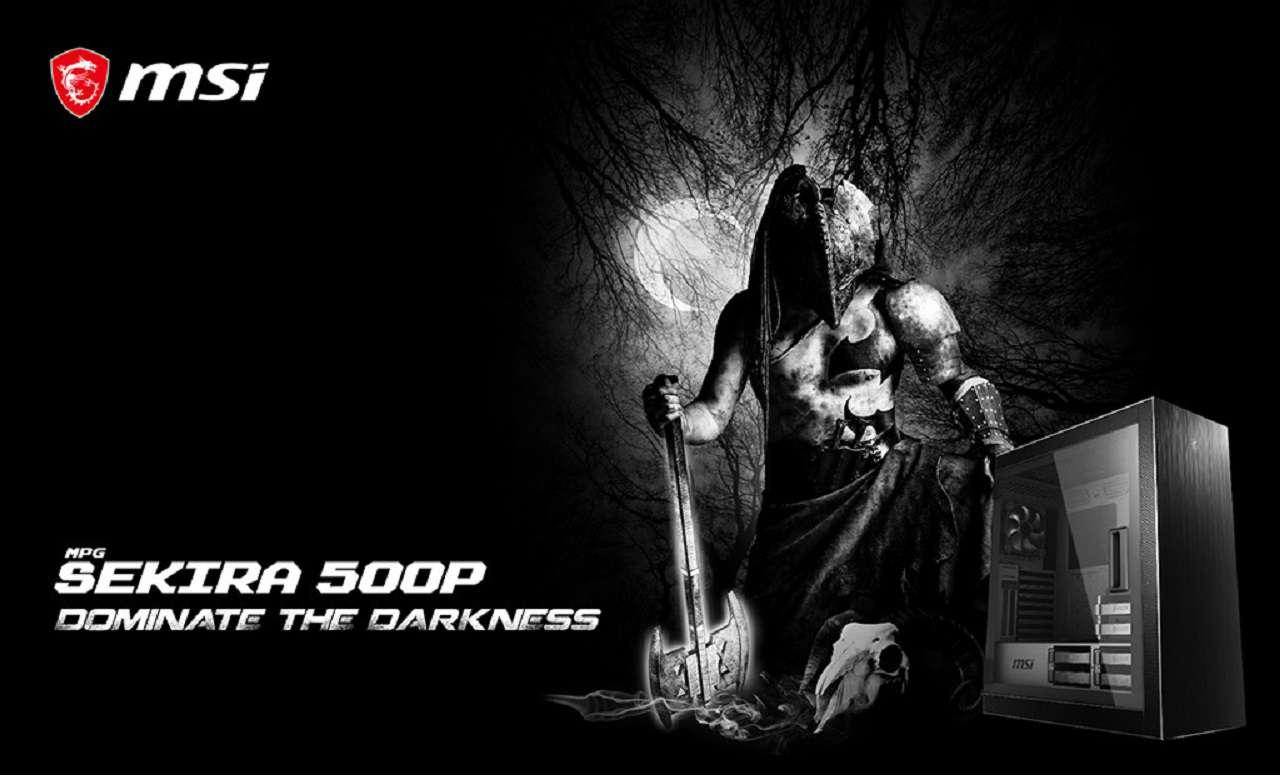 MSI از کیس گیمینگ جدید MPG SEKIRA 500 رونمایی کرد