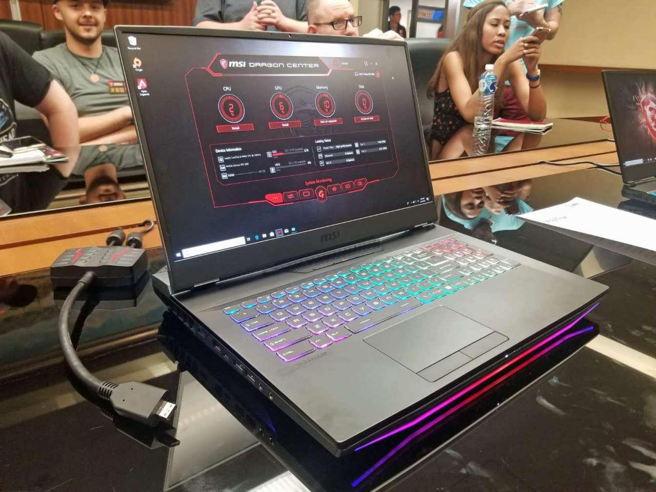 کامپیوتکس 2019: اماسآی لپتاپ گیمینگ GT76 Titan را معرفی کرد